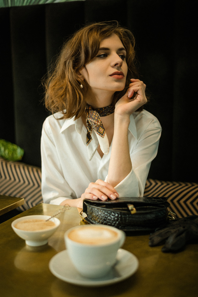 biała koszula Monika Kamińska, Karolina Maras