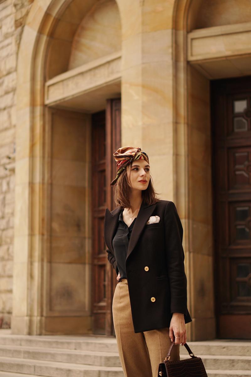jak nosić turban, Karolina Maras