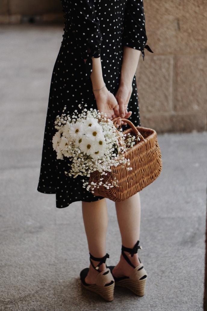 marie zelie sukienka w kropki