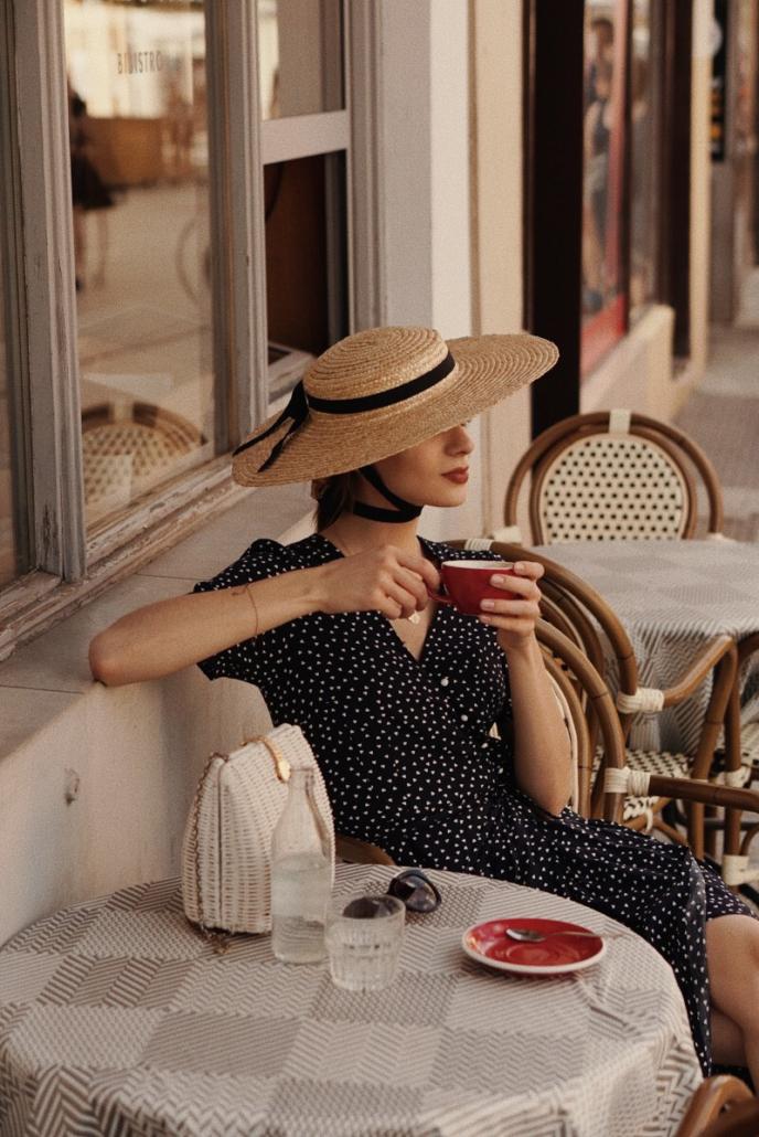kapelusz retro wiązany, Karolina Maras
