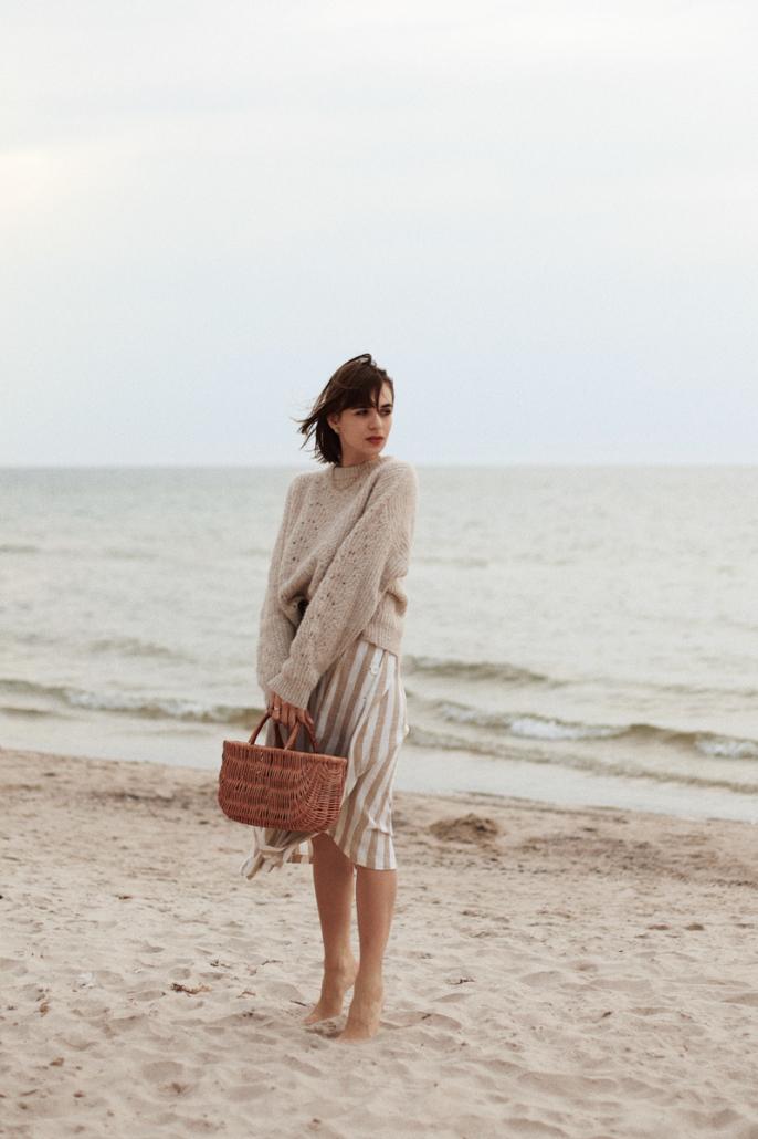 sweter do sukienki
