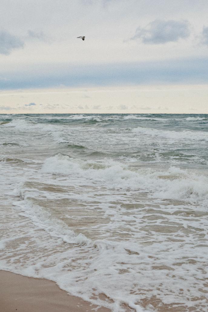 pogorzelica morze